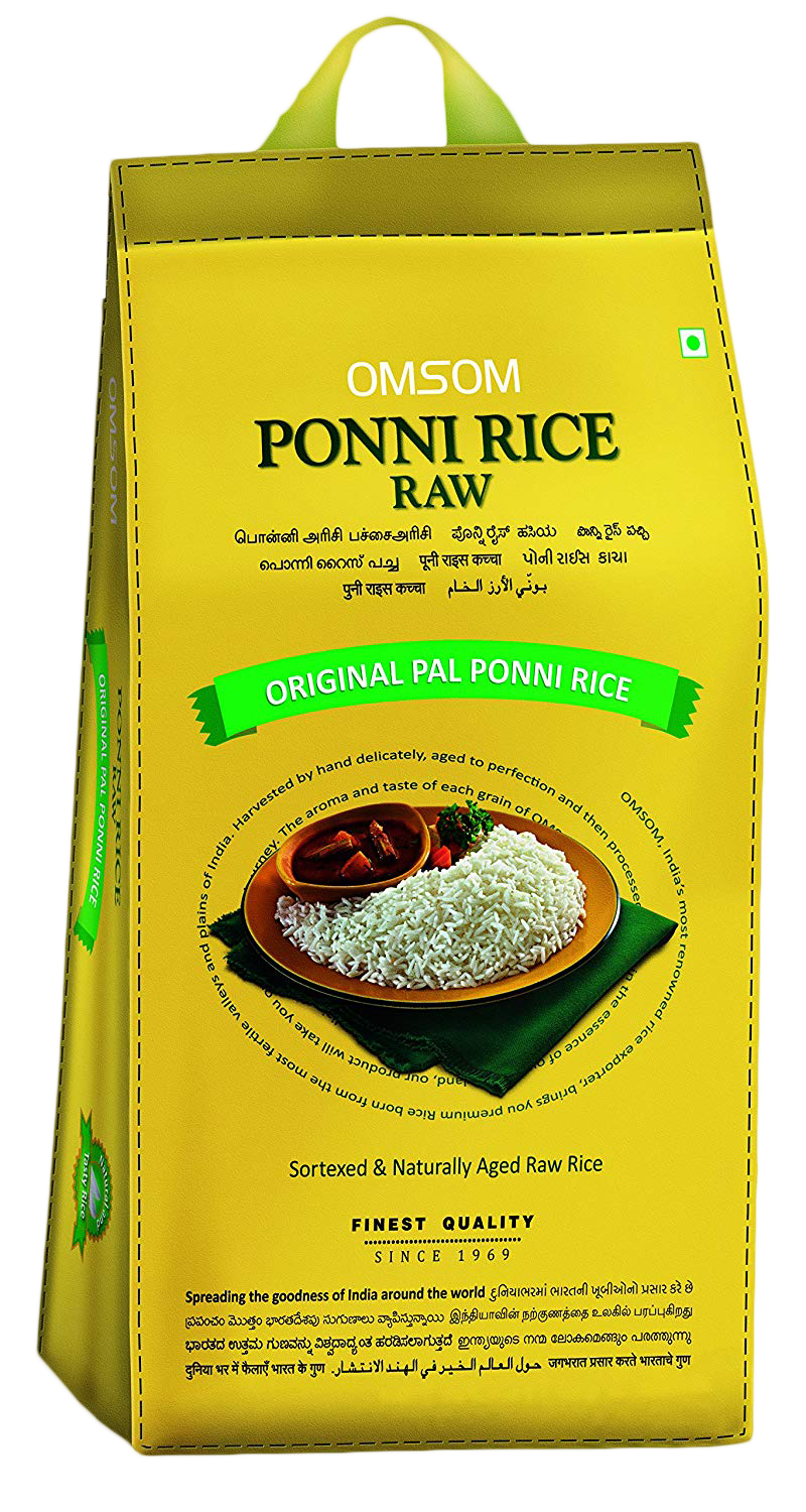 Omsum : Special Poni Raw Rice [ 5 kg ]